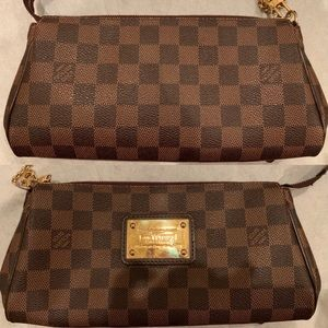 100 % authentic used Eva clutch without strap